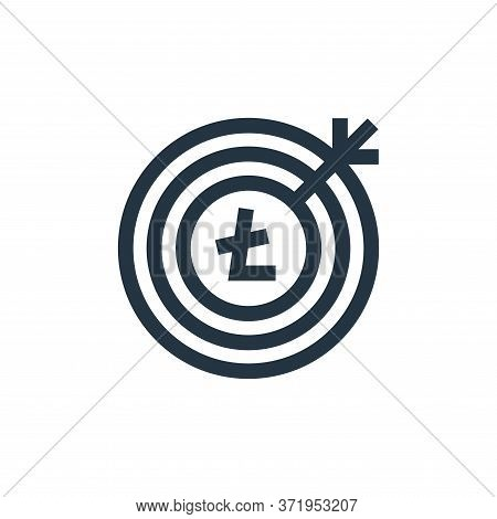 goal icon isolated on white background from  collection. goal icon trendy and modern goal symbol for