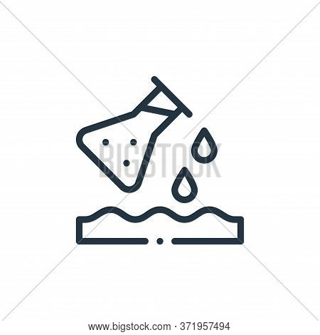 pollution icon isolated on white background from  collection. pollution icon trendy and modern pollu