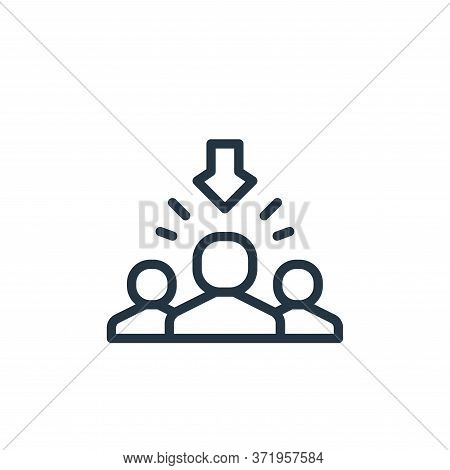 recruitment icon isolated on white background from  collection. recruitment icon trendy and modern r