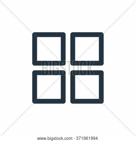 application icon isolated on white background from  collection. application icon trendy and modern a