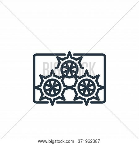 sea urchin icon isolated on white background from  collection. sea urchin icon trendy and modern sea