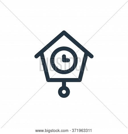 clock icon isolated on white background from  collection. clock icon trendy and modern clock symbol