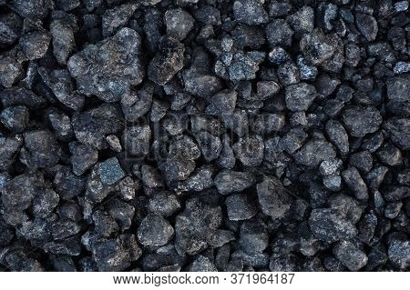 Black Texture. Stone Black Wall. The Cooled Black Lava. Rock Texture. Stone Background. . Stone