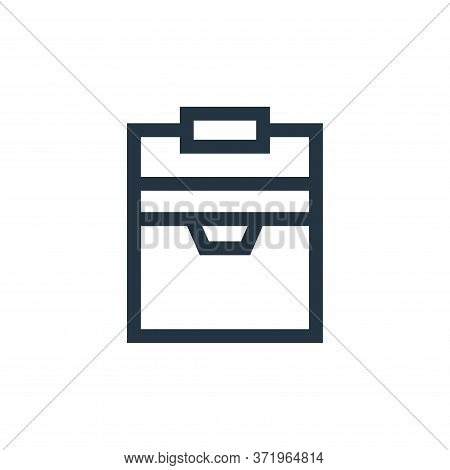 cooler icon isolated on white background from  collection. cooler icon trendy and modern cooler symb