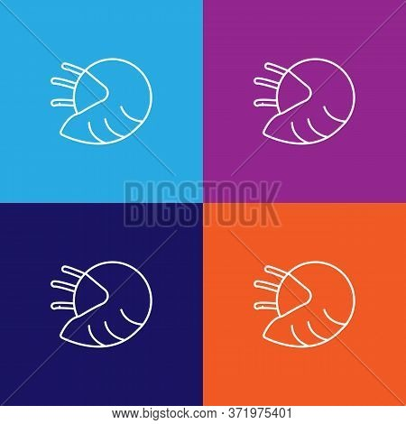 Seafood, Shellfish Icon. Element Of Asian Cuisine Illustration. One Of The Collection Icons For Webs