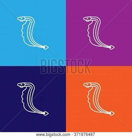 Seafood, Lamprey Icon. Element Of Asian Cuisine Illustration. One Of The Collection Icons For Websit