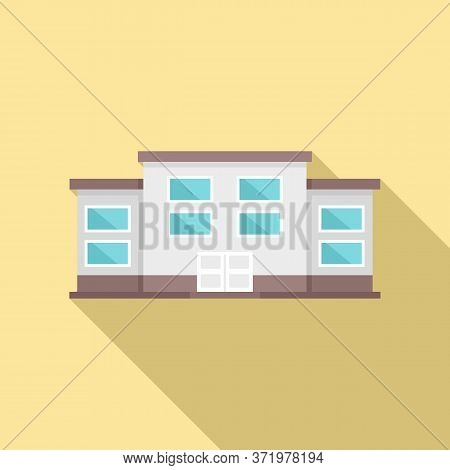 Famous University Icon. Flat Illustration Of Famous University Vector Icon For Web Design