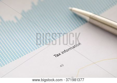 Document For Reporting To Service Tax Information. Submission Individual Income Tax To Fiscal Servic