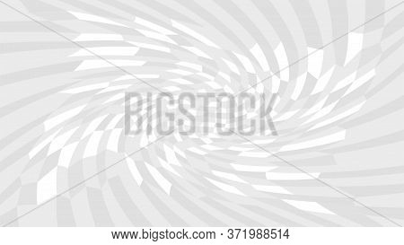 Grey Twirl Wave Pattern Abstract For Background, Optical Wave Twirl Gray Color, Hypnotic Concept, Dy