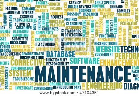 Maintenance System and Upgrade Server as Software