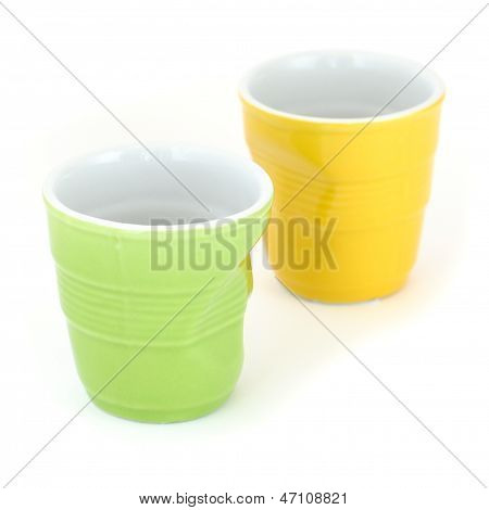 Crumpled Cups