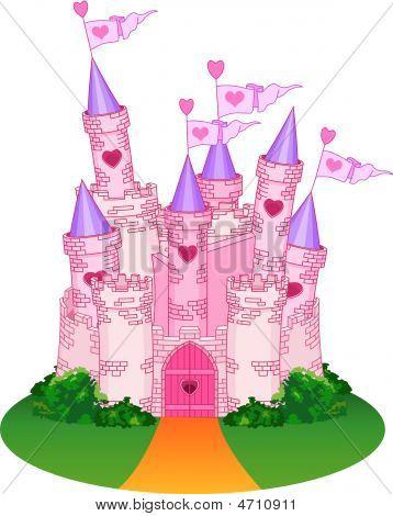 Принцесса замок