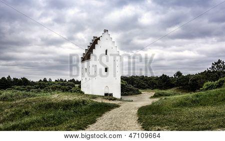 Sand-buried Church, Skagen, Jutland, Denmark