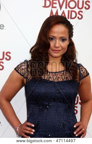 LOS ANGELES - JUN 17:  Judy Reyes arrives at the