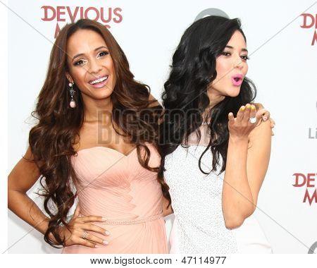 LOS ANGELES - JUN 17:  Dania Ramirez, Edy Ganem arrives at the