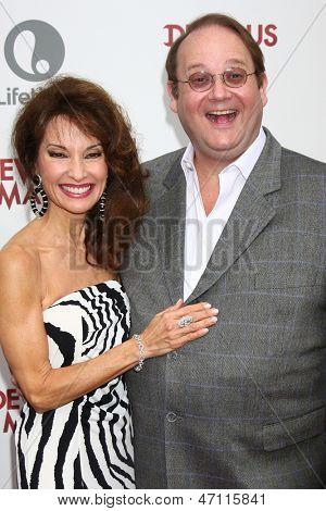 LOS ANGELES - JUN 17:  Susan Lucci, Marc Cherry arrives at the