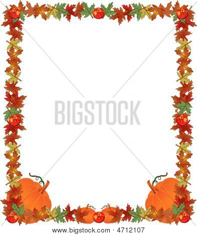 Fall Harvest Background Illustration