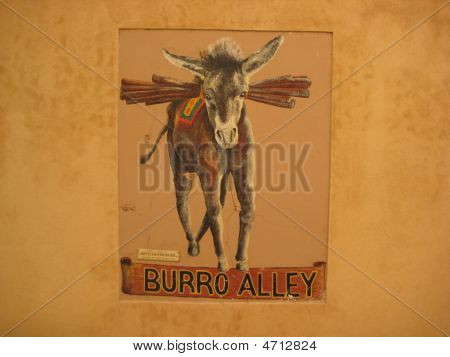 Burro Alley - Santa Fe, New Mexico