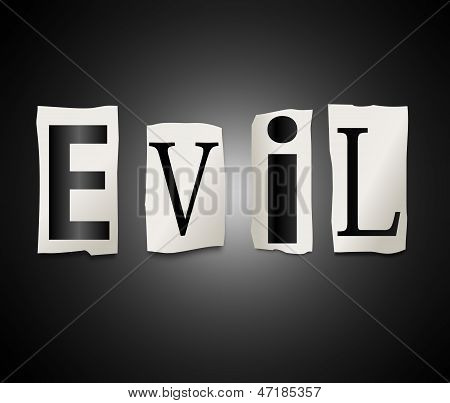 Evil Concept.
