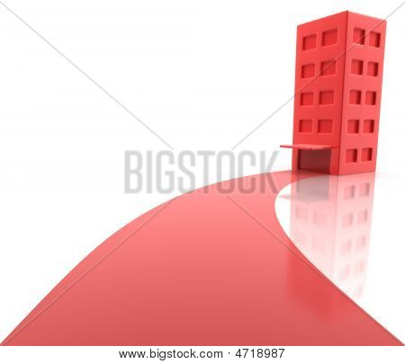 Apartment Red Carpet