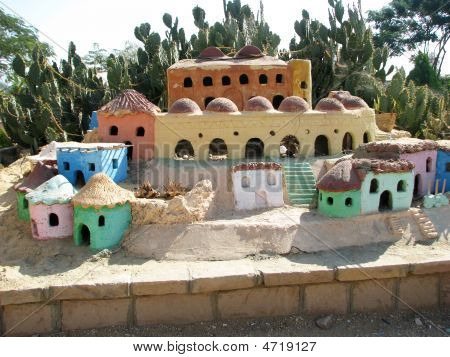 Model Of Traditional Egyptian Rural Homes