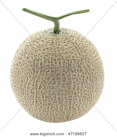 melon, muskmelon, greenhouse melon, cut out, without shadows