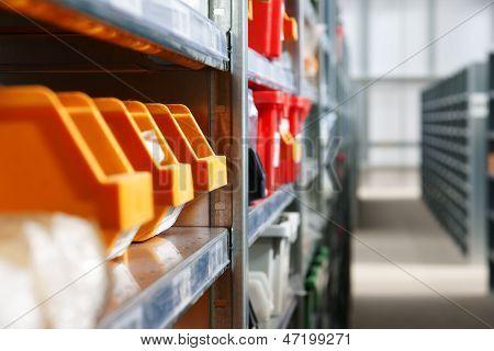 Storage Bins And Racks