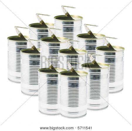 Ringpull Tin Cans