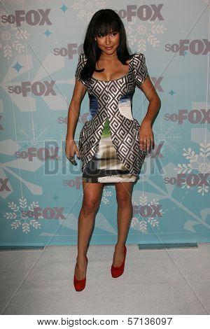 Naya Rivera at the 2011 FOX Winter All-Star Party, Villa Sorriso, Pasadena, CA. 01-11-11