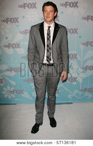 Cory Monteith at the 2011 FOX Winter All-Star Party, Villa Sorriso, Pasadena, CA. 01-11-11