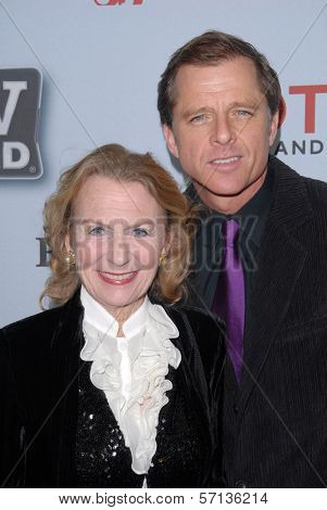 Juliet Mills and Maxwell Caulfield at the