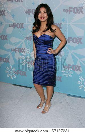 Liza Lapira at the 2011 FOX Winter All-Star Party, Villa Sorriso, Pasadena, CA. 01-11-11