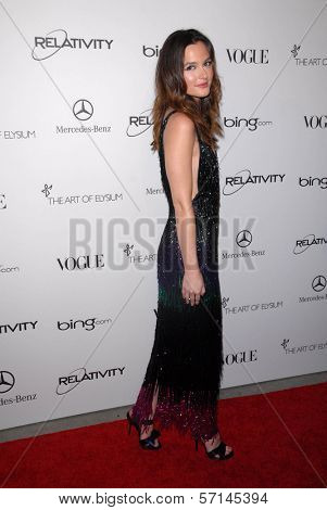 Leighton Meester at the 2011 Art Of Elysium