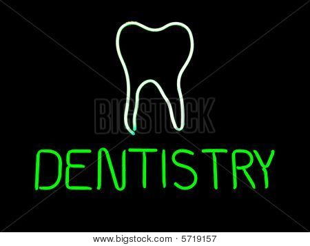 Neon Dentistry Sign