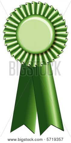Green Prize Ribbon