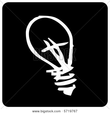 Icon of light bulb