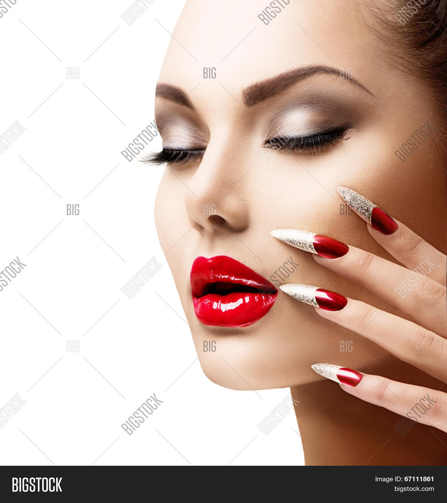 The Nail Art And Beauty Diaries: Fashion Beauty Model Image & Photo (Free Trial)