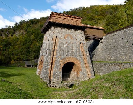 The metallurgical smelter Francis of the 18th century.