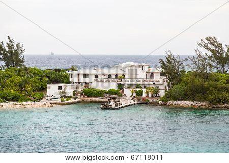 Coastal Home With Storm Damage