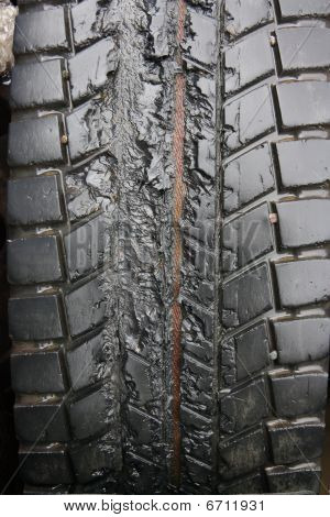 Melted Tire