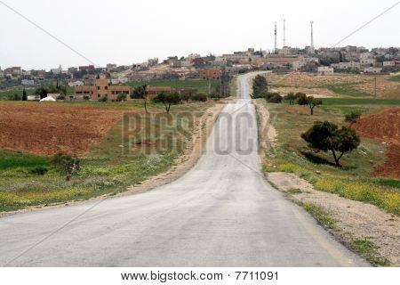 Countryroad in Jordan