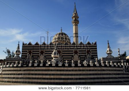 Mosque in the city of Amman