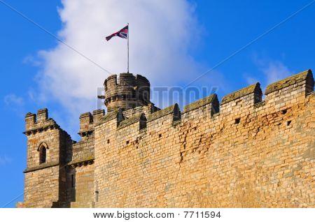 Lincoln castle ramparts