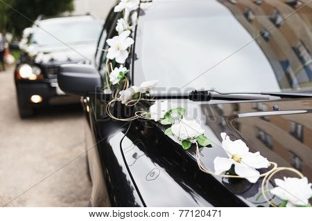 The Car In Wedding Cortege