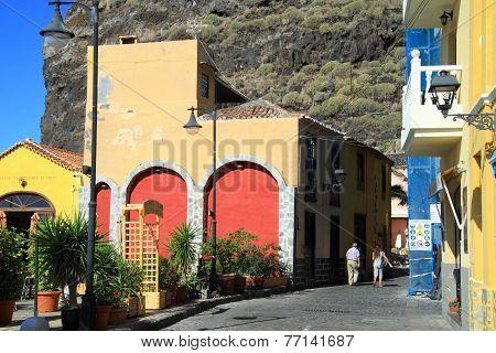 Small town Tasa Corte on La Palma