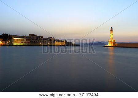 Chania port - Vrete island, Greece