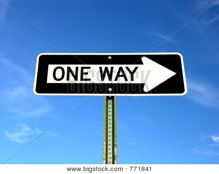 oneway sign
