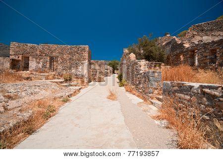 Ruins in Spinalonga