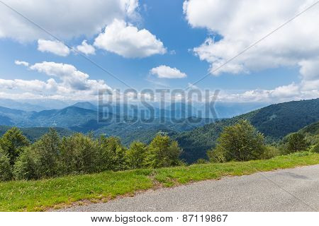 A Sunny Day In The Pyrenees At Biert