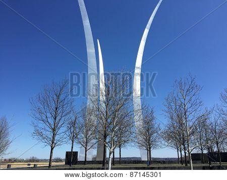 AirForce Memorial in Washington, DC